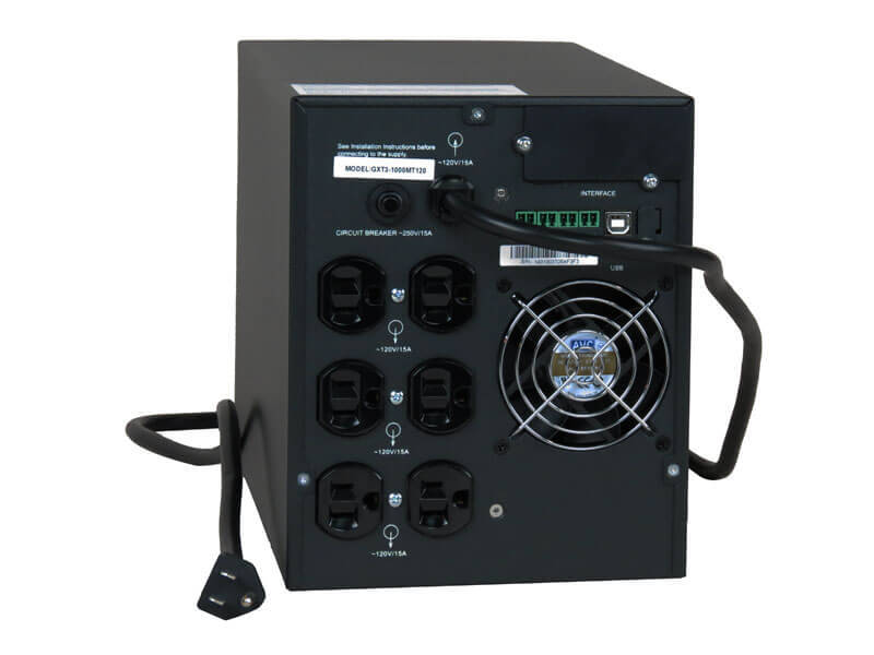Tech Plan Liebert GXT3 UPS, 1,000VA, Micro-Tower
